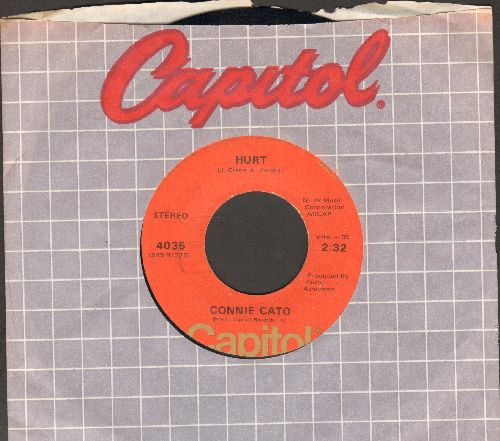 Cato, Connie - Hurt (VERY NICE updated version of the Timi Yuro Hit)/He'll Be Lovin' Her (with Capitol company sleeve) - NM9/ - 45 rpm Records