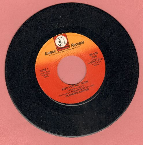 Carter, Clarence - Kiss You All Over/Dance To The Blues - NM9/ - 45 rpm Records