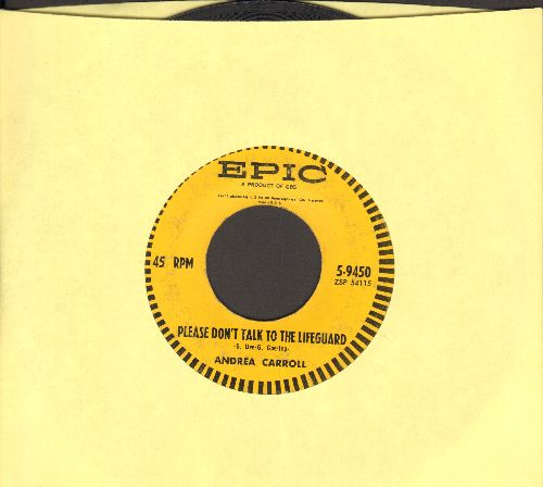Carroll, Andrea - Please Don't Talk To The Lifeguard/Room Of Memories  - VG6/ - 45 rpm Records
