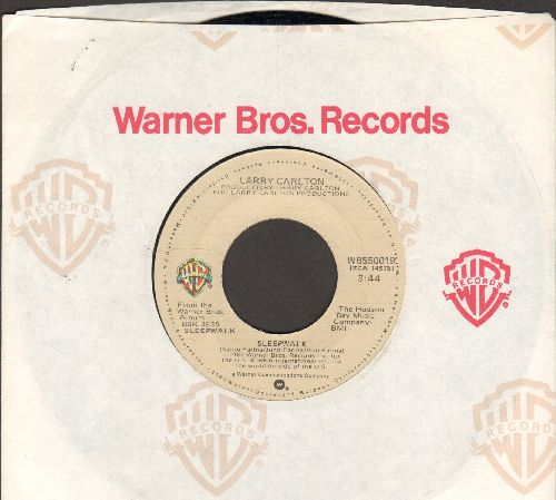 Carlton, Carl - Sleep Walk/Frenchman's Flat (with Warner Brothers company sleeve) - NM9/ - 45 rpm Records