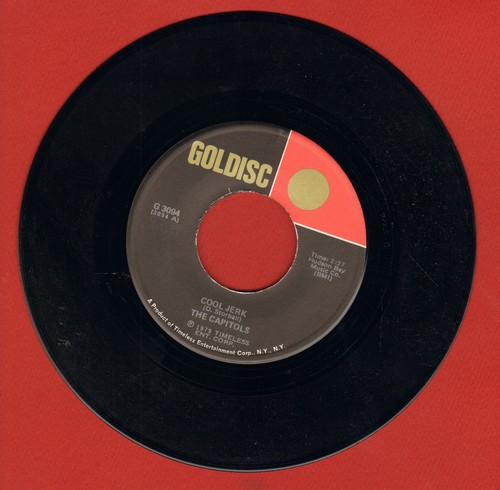 Capitols - Cool Jerk/The Jerk (by The Larks on flip-side) (double-hit re-issue) - M10/ - 45 rpm Records