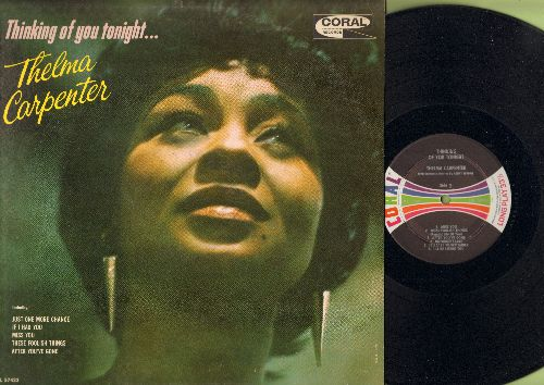Carpenter, Thelma - Thinking Of You Tonight: Unforgettable, I'll Be Seeing You, If I Had You (vinyl MONO LP record) - NM9/EX8 - 45 rpm Records