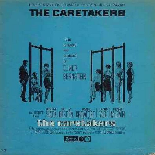 Bernstein, Elmer - The Caretakers - Original Motion Picture Score, music composed and conducted by Elmer Bernstein (vinyl LP record) - NM9/VG7 - LP Records