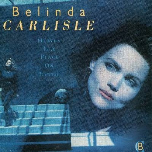 Carlisle, Belinda - Heaven Is A Place On Earth/We Can Change (with picture sleeve) - NM9/EX8 - 45 rpm Records