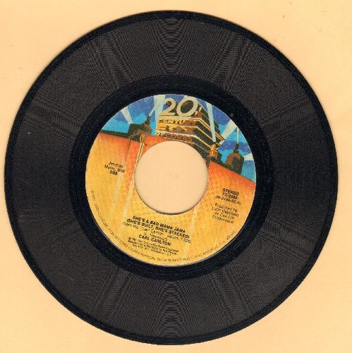Carlton, Carl - She's A Bad Mama Jama (She's Built, She's Stacked)/This Feeling's Rated X-Tra  - EX8/ - 45 rpm Records