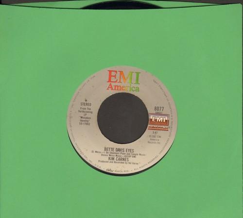 Carnes, Kim - Bette Davis Eyes/Miss You Tonight - VG7/ - 45 rpm Records