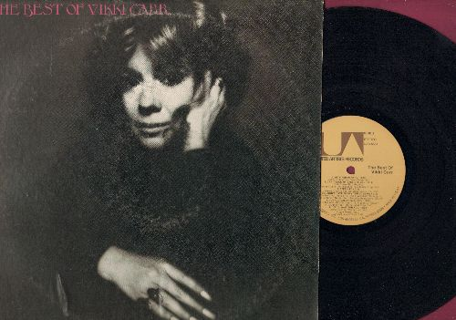 Carr, Vikki - The Best Of: With Pen In Hand, Can't Take My Eyes Off You, Cuando Caliente El Sol, It Must Be Him, San Francisco (vinyl STEREO LP record) - NM9/VG7 - LP Records