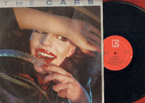 Cars - The Cars: My Best Friend's Girl, Just What I Needed, Good Times Roll, Bye Bye Love, All Mixed Up (vinyl STEREO LP record) - EX8/VG6 - LP Records