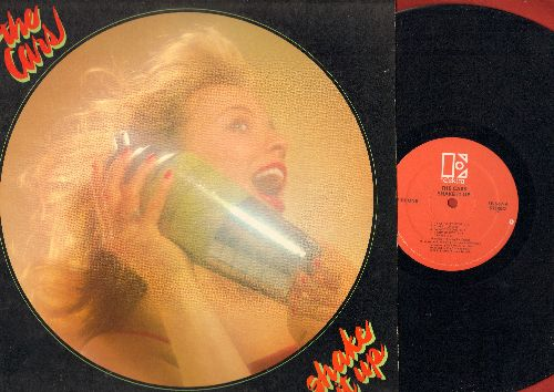 Cars - Shake It Up: Maybe Baby, Think It Over, Cruiser, Since You've Gone, A Dream Away (vinyl STEREO LP record) - EX8/EX8 - LP Records