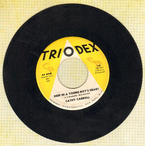 Carroll, Cathy - Jimmy Love/Deep In A Young Boy's Heart (sol, wol) - VG7/ - 45 rpm Records