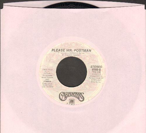 Carpenters - Please Mr. Postman/Solitaire (re-issue) - NM9/ - 45 rpm Records