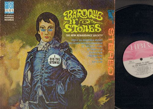 Baraque 'N' Stones - The New Renaissance Society: Under The Boardwalk Medley, Get Off Of My Cloud, Satisfaction, Play With Fire (vinyl STEREO LP record, gate-fold cover) - NM9/VG7 - LP Records
