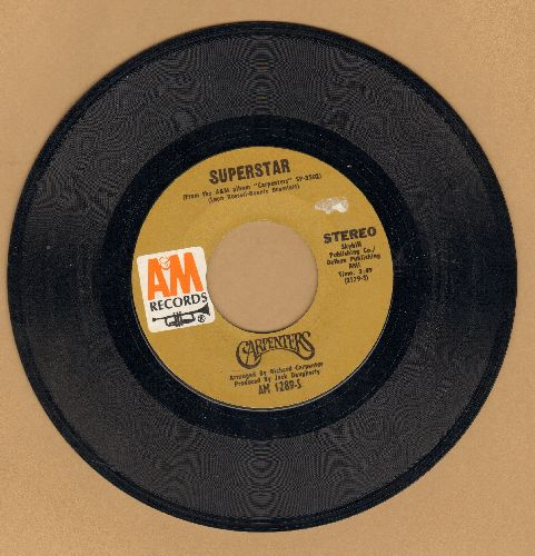 Carpenters - Superstar/Bless The Beasts And The Children - EX8/ - 45 rpm Records