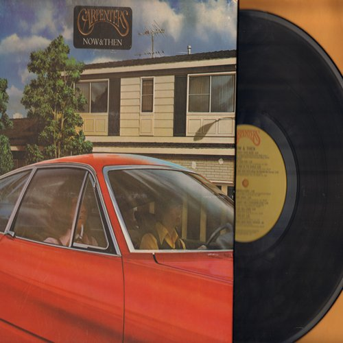Carpenters - Now & Then: Yesterday Once More, Sing, Jambalaya (On The Bayou), The Masquerade (vinyl STEREO LP record, gate-fold cover) - EX8/VG7 - LP Records