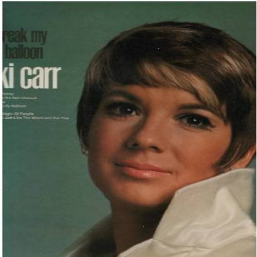 Carr, Vikki - Don't Break My Pretty Balloon: Happy Together, Jomey, The Glory Of Love, Tears On My Pillow, It's Not Unusual (vinyl STEREO LP record) - M10/NM9 - LP Records