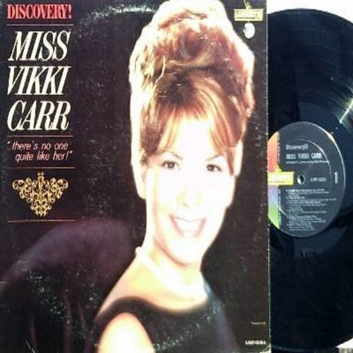 Carr, Vikki - Discovery!: The Surrey With The Fringe On Top, So In Love, Bluesette, I Cry Alone (vinyl MONO LP record) - NM9/EX8 - LP Records