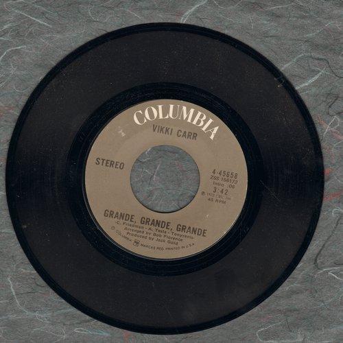 Carr, Vikki - Grande, Grande, Grande/Y Volvere (US Pressing, sung in Spanish) - EX8/ - 45 rpm Records
