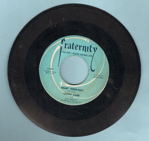 Carr, Cathy - Heart Hideaway/The Boy On Page Thirty-Five - VG7/ - 45 rpm Records