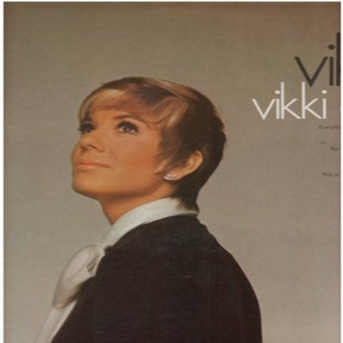 Carr, Vikki - Vikki!: Never My Love, By The Time I Get To Phoenix, For Once In My Life, The Lesson, This House That Jack Built (vinyl STEREO LP record, NICE condition!) - M10/NM9 - LP Records