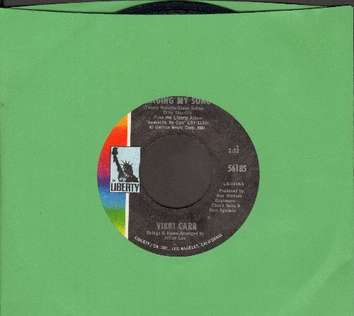 Carr, Vikki - Singing My Song/Make It Rain (MINT condition!) - M10/ - 45 rpm Records