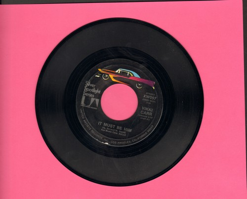 Carr, Vikki - It Must Be Him/The Lesson (early double-hit re-issue) - NM9/ - 45 rpm Records