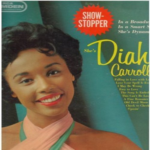 Carroll, Diahann - Showstopper: A Fine Romance, Cheek To Cheek, Old Devil Moon, Easy To Love, The Song Is Ended (vinyl MONO LP record) - NM9/VG7 - LP Records