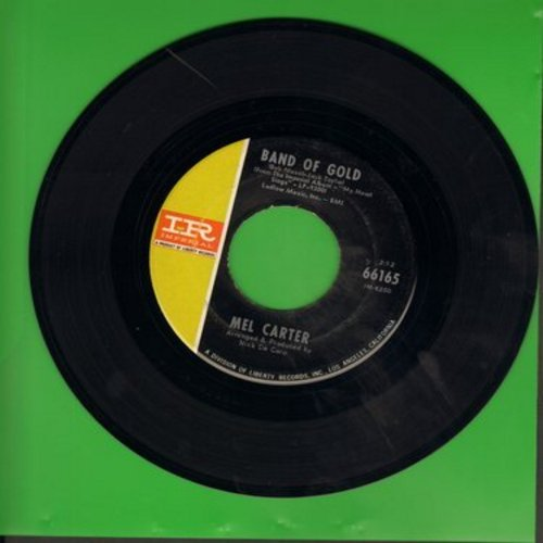 Carter, Mel - Band Of Gold/Detour - VG7/ - 45 rpm Records