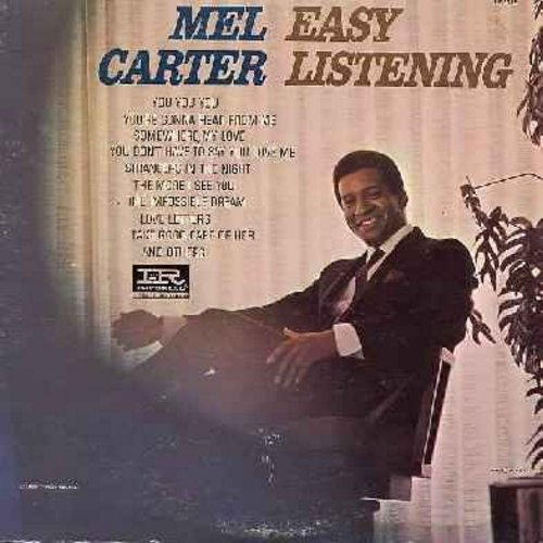 Carter, Mel - Easy Listening: You You You, Somewhere My Love, Strangers In The Night, The Impossible Dream, Love Letters (vinyl MONO LP record) - NM9/EX8 - LP Records