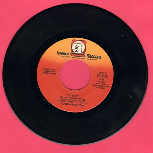 Carter, Clarence - G Spot/Hot Dog - EX8/ - 45 rpm Records