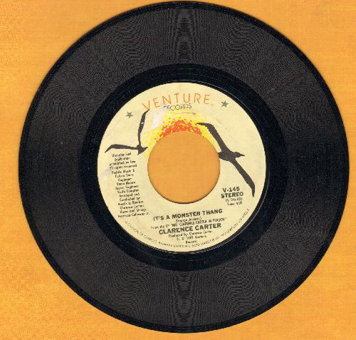 Carter, Clarence - It's A Monster Thang/If I Were Yours  - EX8/ - 45 rpm Records