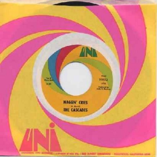 Cascades - Maybe The Rain Will Fall/Naggin' Cries (with original company sleeve) (bb) - VG7/ - 45 rpm Records