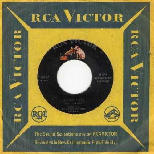 Gale, Sunny - Looking Glass/C'est La Vie (with vintage RCA company sleeve) - EX8/ - 45 rpm Records