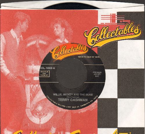 Cashman, Terry - Willie, Mickey And The Duke/I Used To Be A Brooklyn Dodger (by Dion on flip-side) (re-issue) - M10/ - 45 rpm Records