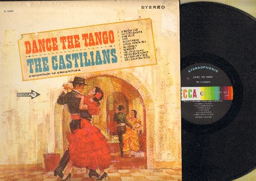Castilians - Dance The Tango: Don Juan, Blue Tango, Caminito, Una Lagruma Tuya, Adios Muchasos (vinyl STEREO LP record) - NM9/EX8 - LP Records
