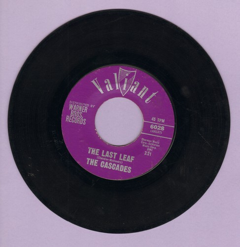 Cascades - The Last Leaf/Shy Girl (sol) - VG6/ - 45 rpm Records