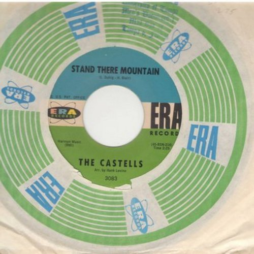 Castells - Stand There Mountain/Oh! What It Seemed To Be (with RARE vintage Era company sleeve) - NM9/ - 45 rpm Records