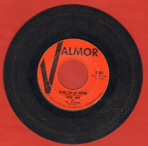 Cathy Jean & The Roommates - Please Love Me Forever/Canadian Sunset  - VG7/ - 45 rpm Records
