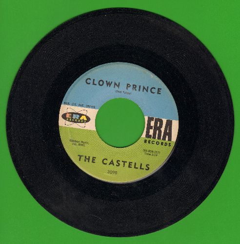 Castells - Clown Prince/Eternal Love, Eternal Spring - EX8/ - 45 rpm Records