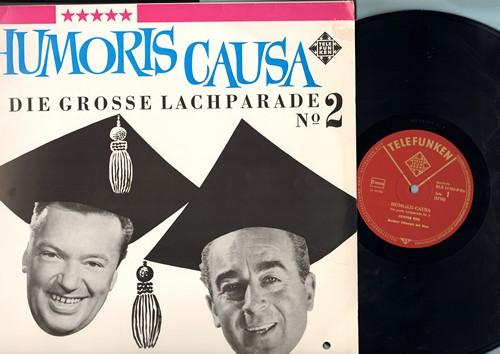 Keil, Gunter & Heinz Schenk - Homoris Causa: Berliner Schnauze mit Herz/So lacht man in Hessen (vinyl MONO LP record, German Pressing, in German) - M10/EX8 - LP Records