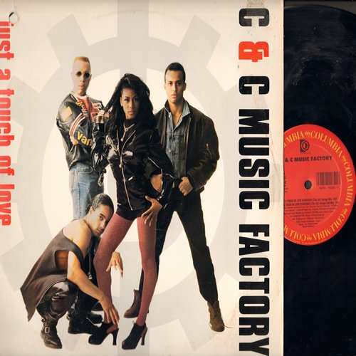 C & C Music Factory - Just A Touch Of Love (12 inch Maxi Single featuring 4 Extended Dance Club versions, with picture cover) - NM9/VG7 - Maxi Singles