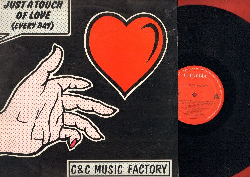 C & C Music Factory - Just A Touch Of Love (Every Day) - 12 inch vinyl Maxi Single featuring 6 Dance Mix Tracks (Dutch Pressing with picture cover) - NM9/EX8 - Maxi Singles