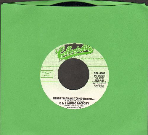 C & C Music Factory - Things That Make You Go Hmmmm…/Just A Touch Of Love *everyday) (double-hit re-issue) - M10/ - 45 rpm Records
