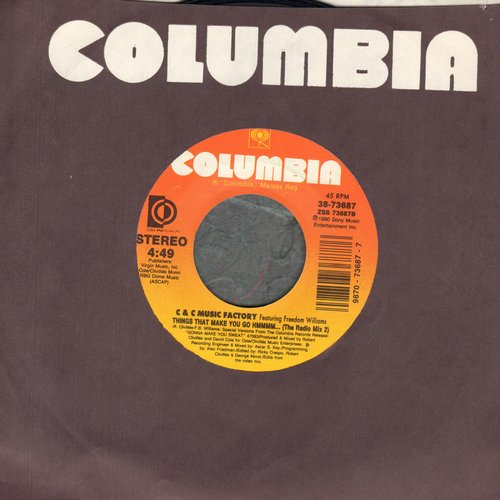 C & C Music Factory - Things That Make You Go Hmmmm… (Radio Mix 1 + 2) - NM9/ - 45 rpm Records