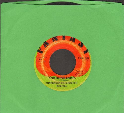 Creedence Clearwater Revival - Down On The Corner/Fortunate Son - VG7/ - 45 rpm Records