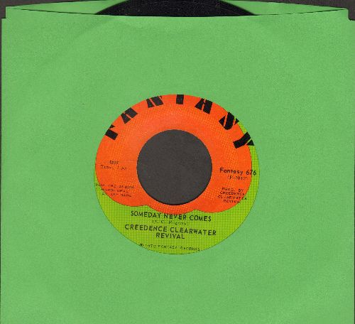 Creedence Clearwater Revival - Tearin' Up The Country/Someday Never Comes - EX8/ - 45 rpm Records