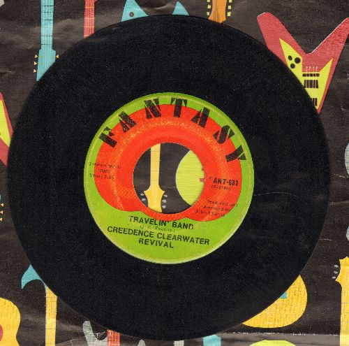 Creedence Clearwater Revival - Travelin' Band/Who'll Stop The Rain - VG7/ - 45 rpm Records