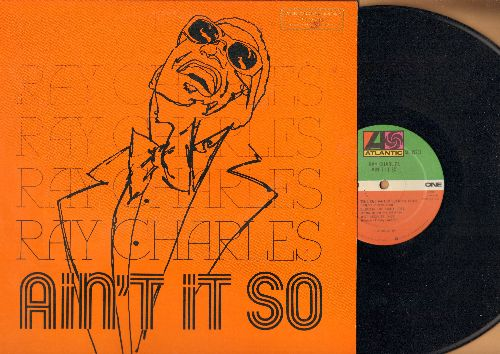 Charles, Ray - Ain't It So: Blues In The Night, Some Enchanted Evening, What'll I Do (vinyl STEREO LP record, DJ advance pressing) - EX8/EX8 - LP Records