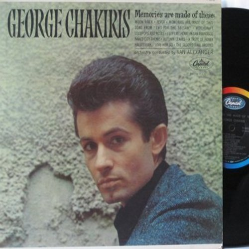 Chakiris, George - Memories Are Made Of These: Moon River, Witchcraft, Fever, Lollipos And Roses, A Taste Of Honey, Autumn Leaves 9vinyl MONO LP record) - NM9/NM9 - LP Records
