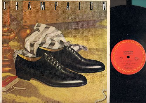 Champaign - How 'Bout Us: Whiplash, Party People, Lighten Up (vinyl STEREO LP record) - NM9/EX8 - LP Records