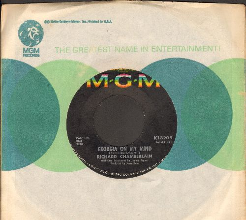 Chamberlain, Richard - Georgia On My Mind/Stella By Starlight (with MGM company sleeve) - EX8/ - 45 rpm Records